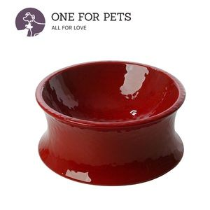 One for Pets The Kurve Raised Pet Bowl